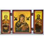 Triptych Icon - English